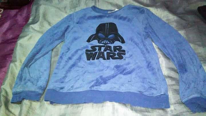 Imagen parte de arriba pijama Star Wars