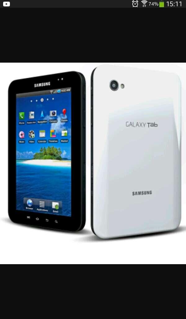 Imagen tablet samsung  3G