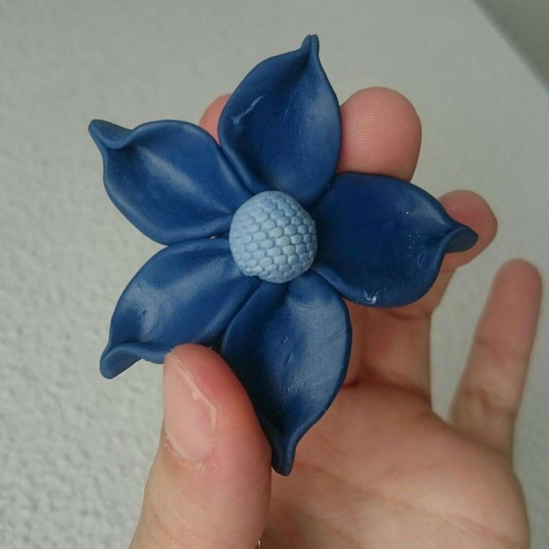 Imagen Nuevo Broche artesanal flor