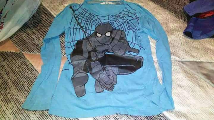 Imagen camisetas Spiderman 7/8