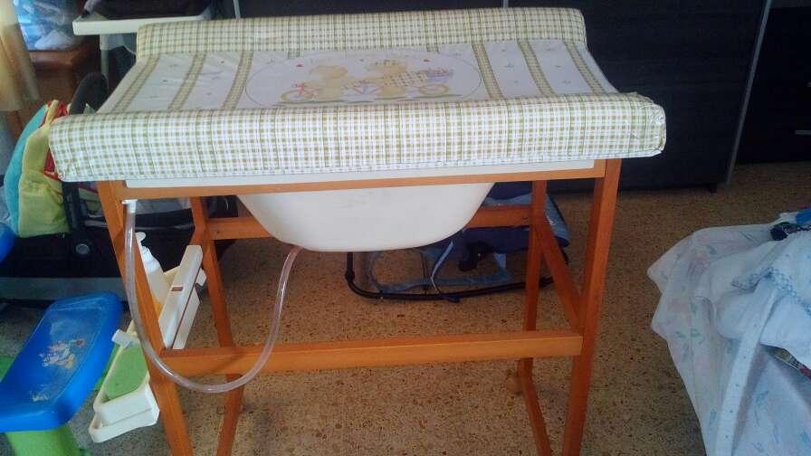 Imagen producto Cambiador bañera de bebe 1