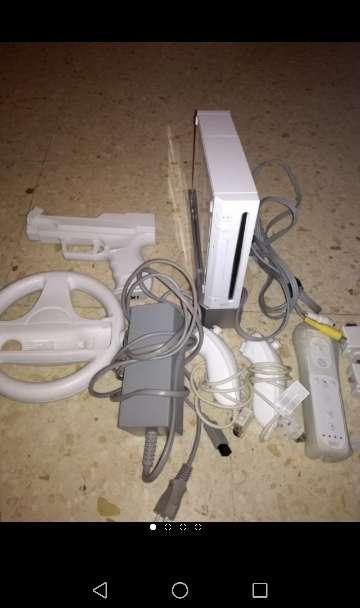 Imagen Wii con accesorios