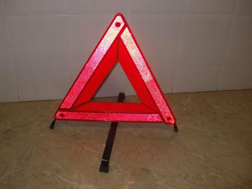 Imagen Triángulos señalización de emergencia