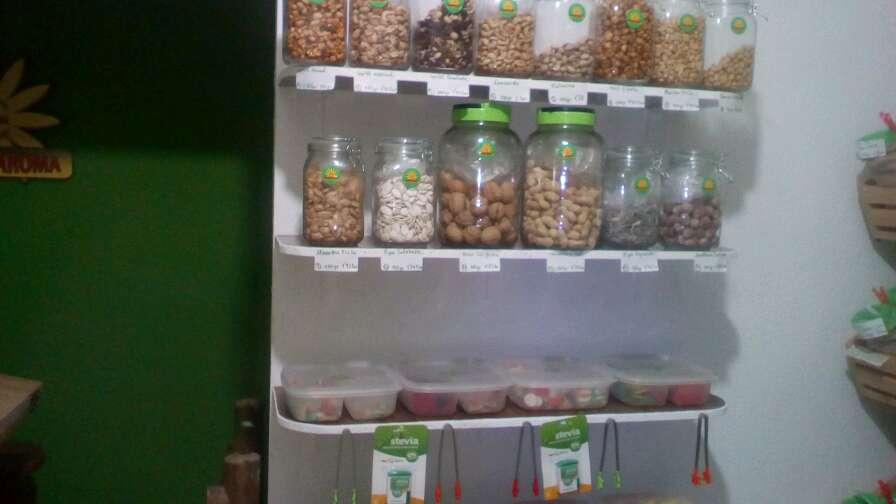 Imagen Hierbas especias chuches y frutos secos