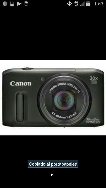 Imagen Canon power shot sx 240 hd