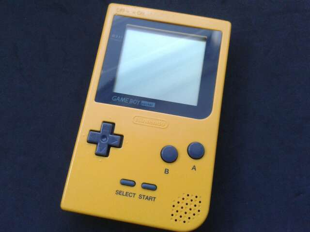 Imagen Game Boy Pocket Amarilla