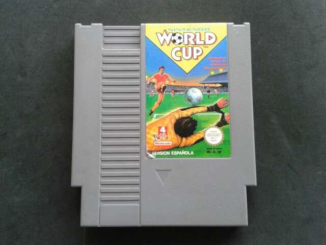 Imagen Nintendo World Cup Nes