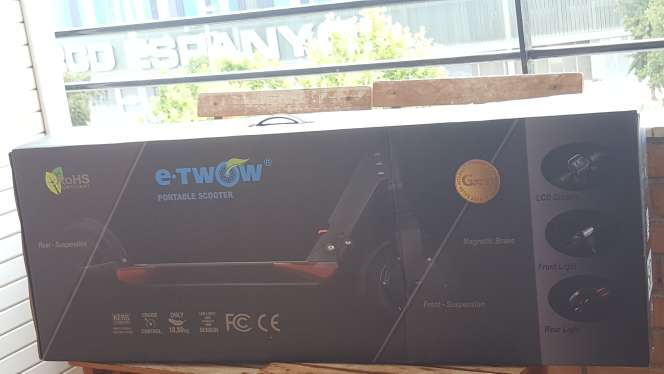 Imagen producto Patinete eléctrico E-twow Booster V2 S2 500w desde 720€ IVA inc. 4