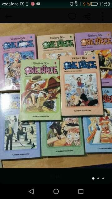 Imagen compro manga de one piece