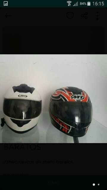 Imagen vendo casco moto