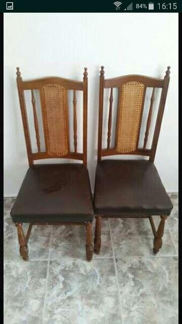Imagen vendo conjunto de 6 sillas