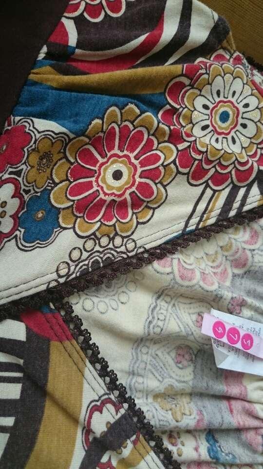Imagen producto Camiseta flores bohemia  3
