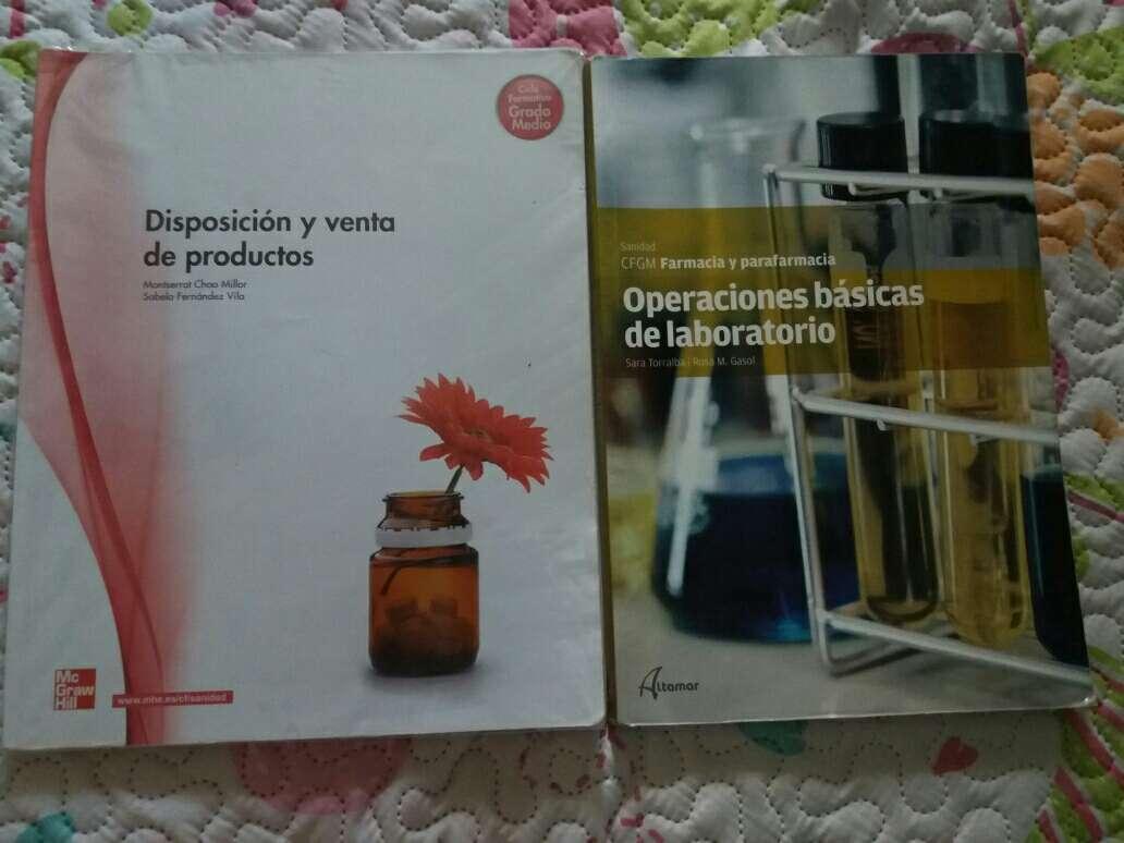 Imagen Libros de 1°Farmacia y Parafarmacia