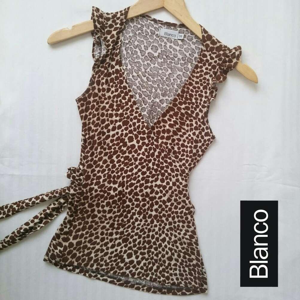 Imagen producto Camiseta Kimono leopardo  3