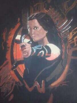 Imagen pintura al acrilico