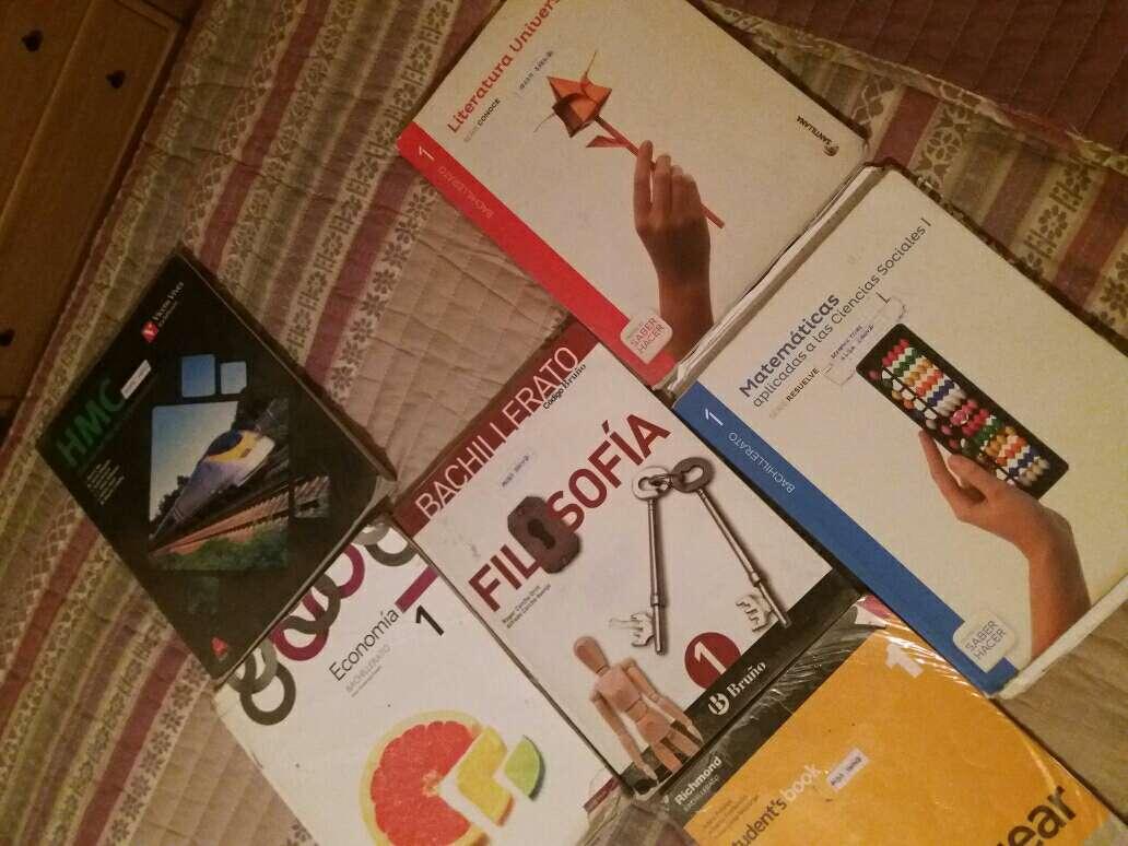 Imagen producto Libros de 1 de Bachillerato IES Comercio  2