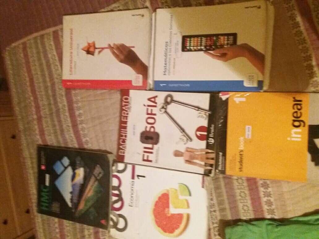 Imagen Libros de 1 de Bachillerato IES Comercio