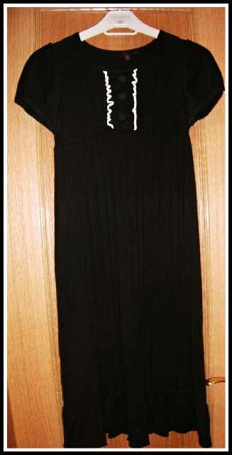 Imagen producto Vestido negro punto  3