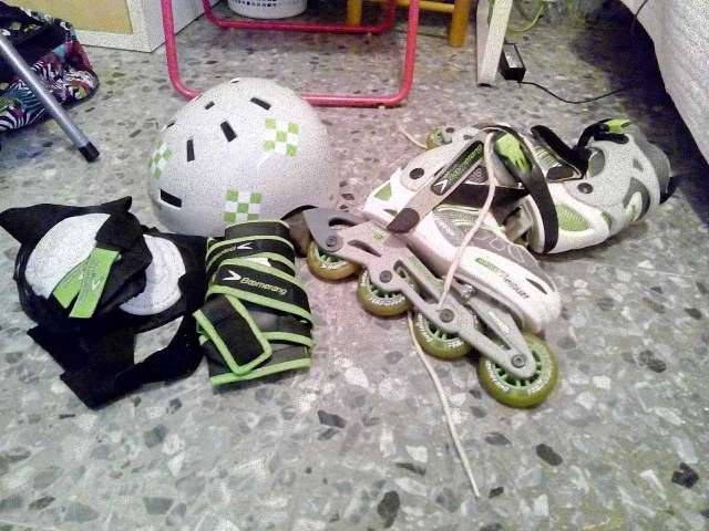 Imagen vendo patines de linea