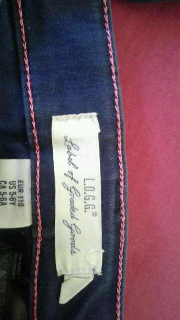 Imagen producto Pantalon de niña 5 - 6 años  2