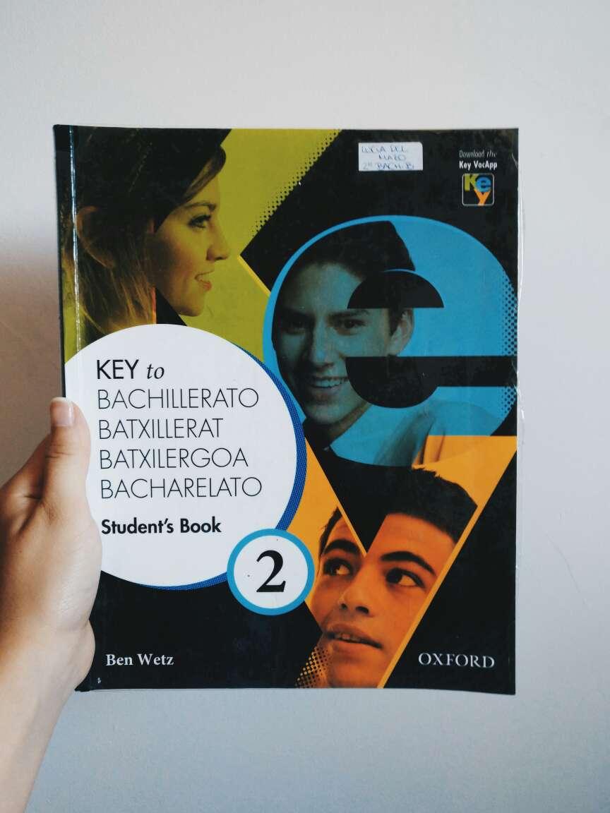 Imagen Libro de Inglés de 2° de Bachillerato