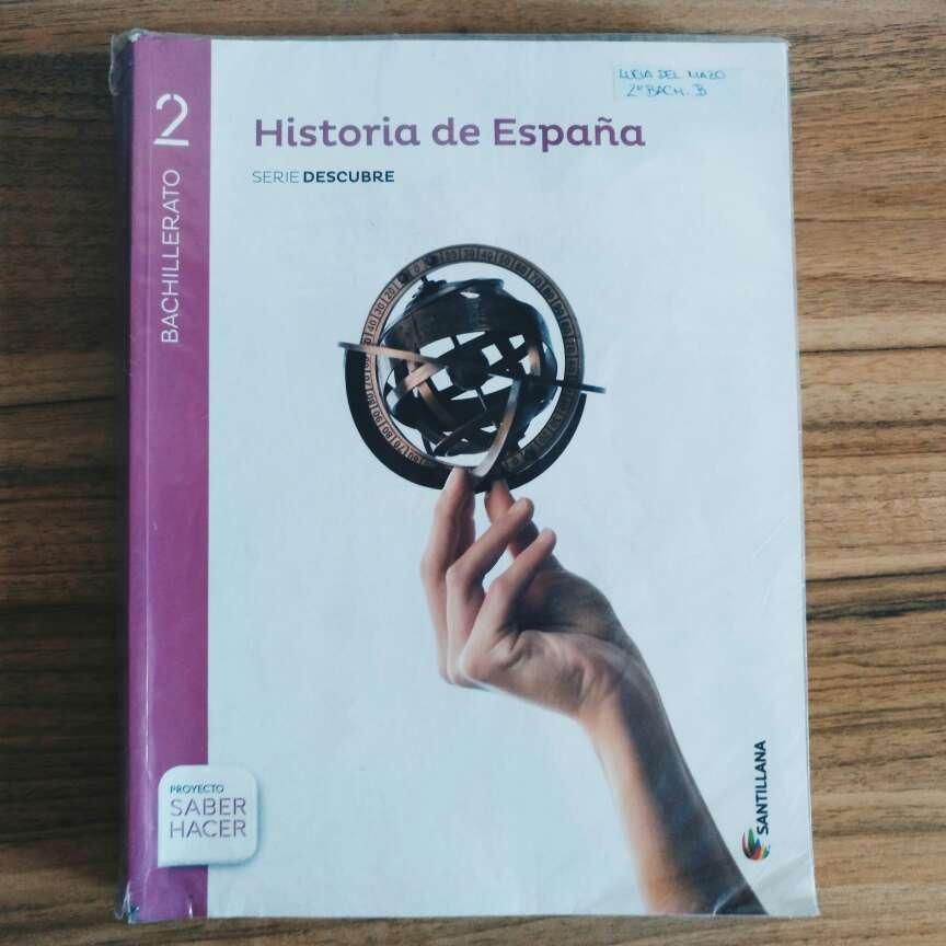 Imagen Libro de Historia de España de 2° de Bachillerato