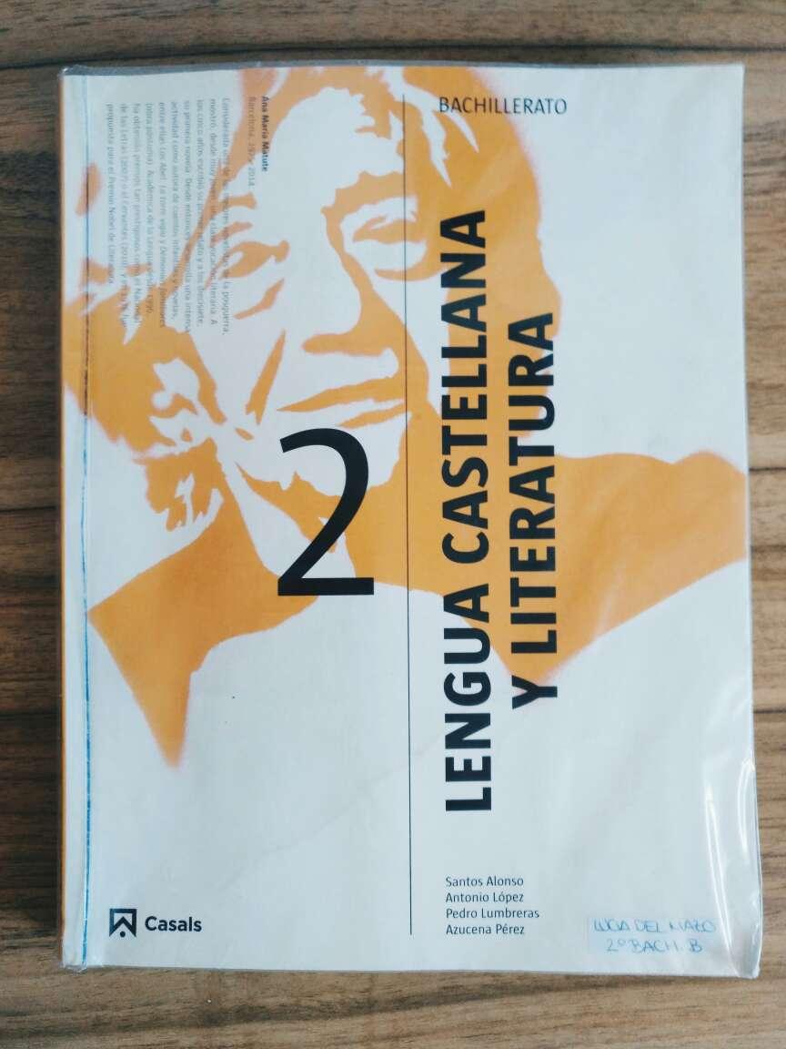Imagen Libro de Lengua Castellana y Literatura de 2° de Bachillerato