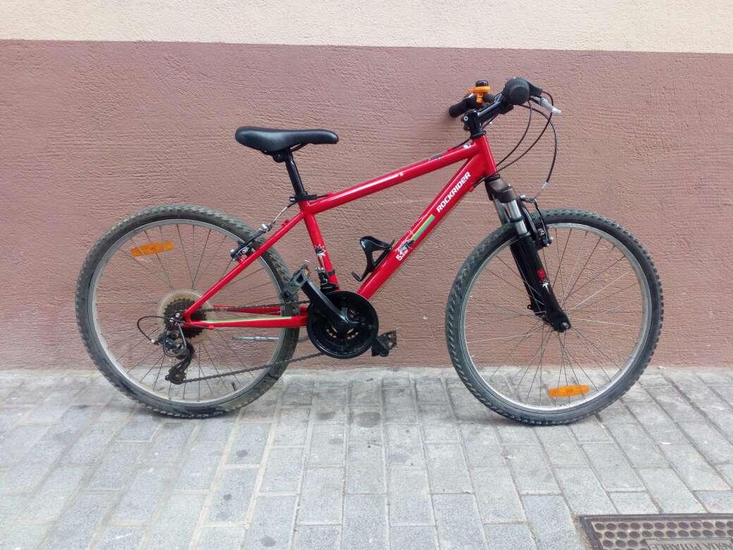 Imagen bicicleta rockrider 5.1 para niños