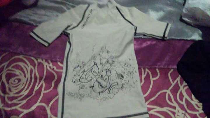 Imagen camiseta neopreno niñx talla 6