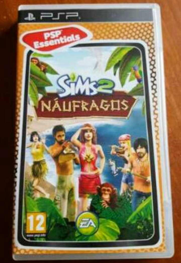 Imagen juego psp los sims 2