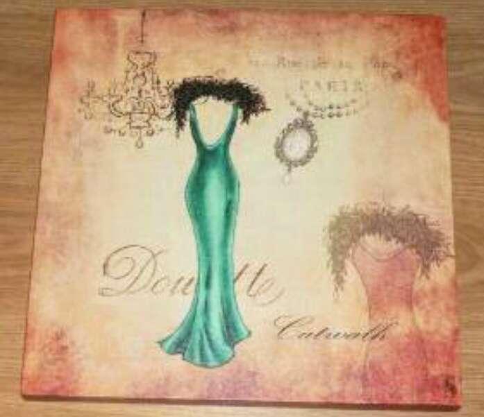 Imagen cuadro vestido