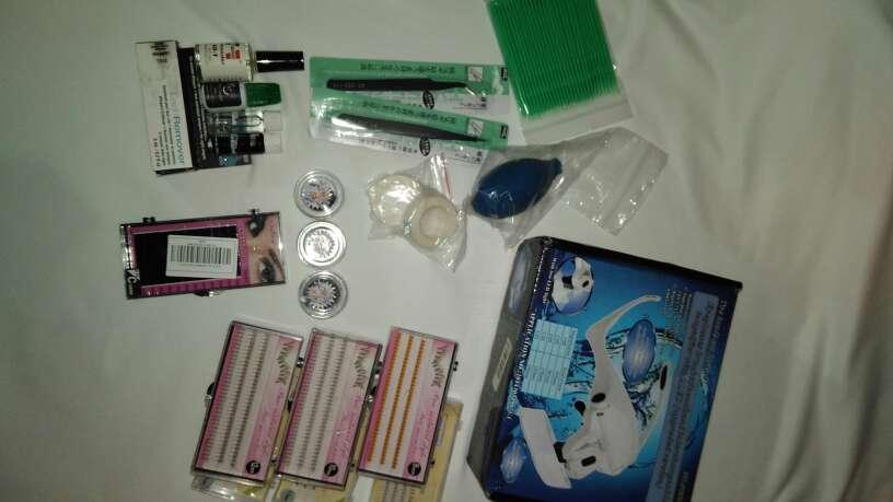 Imagen kit extensión pestañas