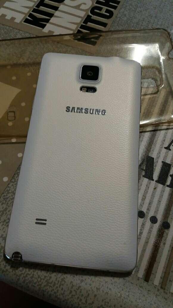 Imagen producto Samsung note 4 blanco en perfecto estado 32GB original y libre 2