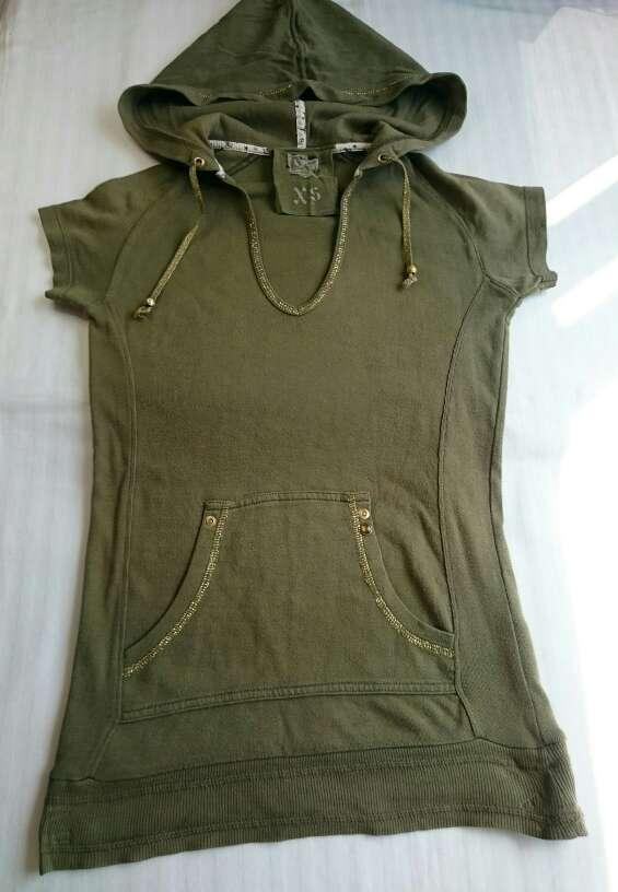 Imagen producto Camiseta verde militar  3
