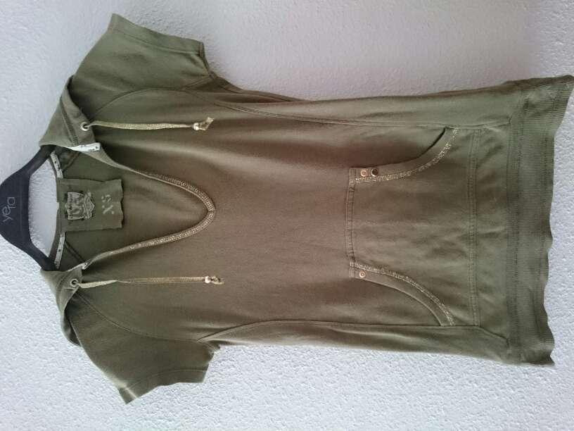 Imagen camiseta verde militar