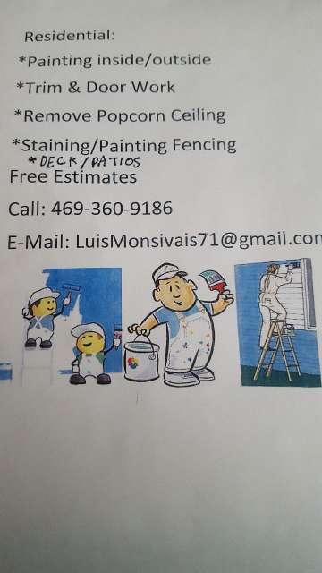 Imagen I do painting work /ago trabajos De Pintura