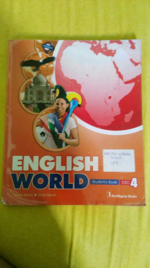 Imagen Libro de inglés : English world 4eso