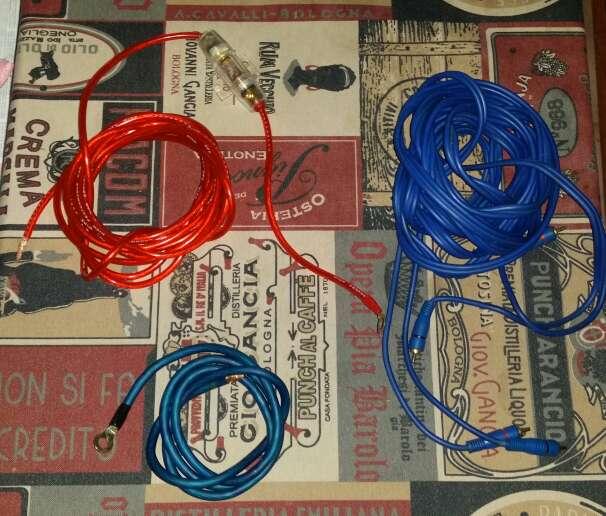 Imagen cables libre de oxigeno car audio marca Scorpion