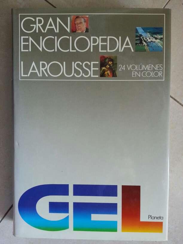 Imagen producto Gran Enciclopedia Larousse 24 tomos a color. 2