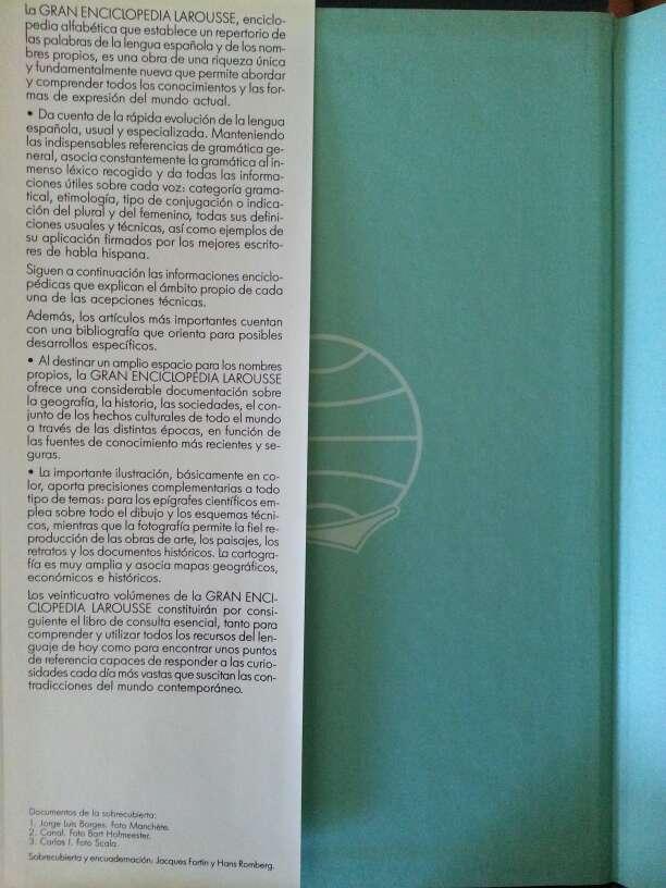 Imagen producto Gran Enciclopedia Larousse 24 tomos a color. 3