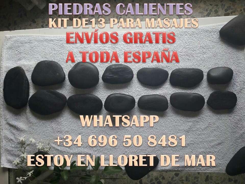 Imagen Piedras Calientes para masajes 13PCS