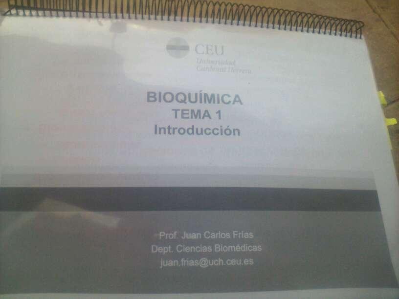 Imagen Libro de Bioquímica