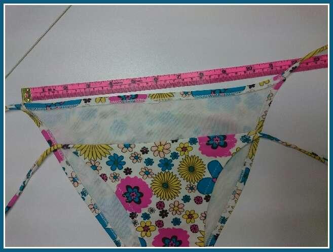 Imagen producto Bikini flores como Nuevo 3