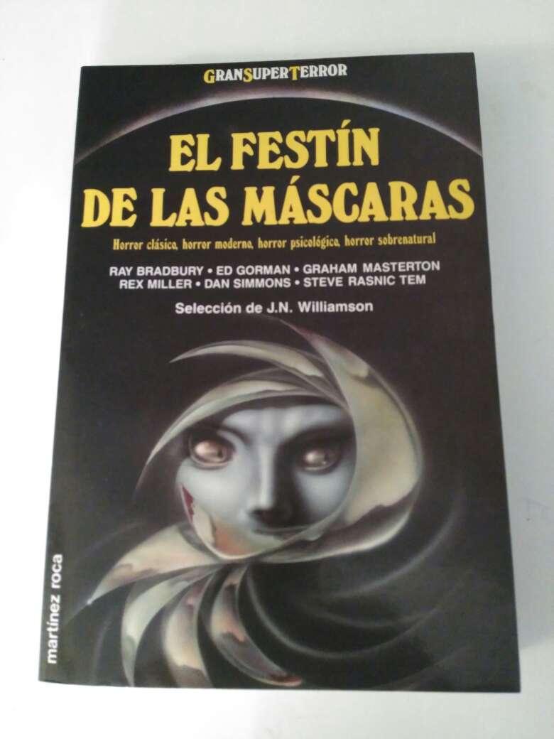 Imagen libro el festín de las mascaras