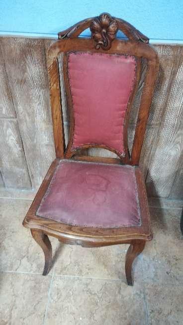 Imagen silla antigua para restaurar
