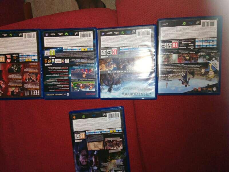 Imagen producto Ps4 500GB con varios juegos y internet  3