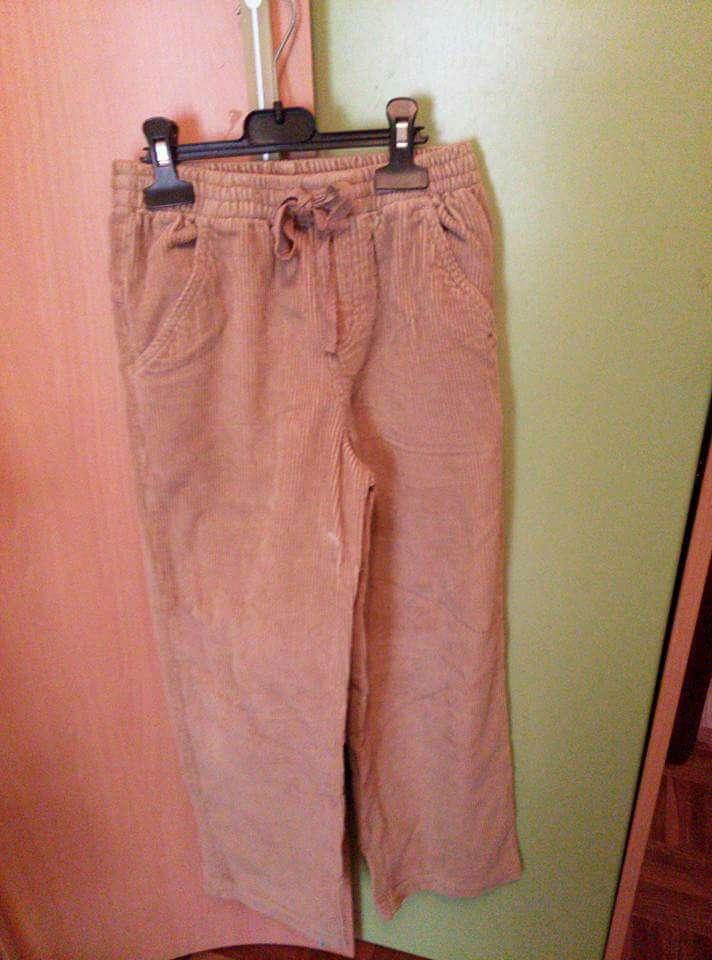 Imagen pantalón pana talla 10