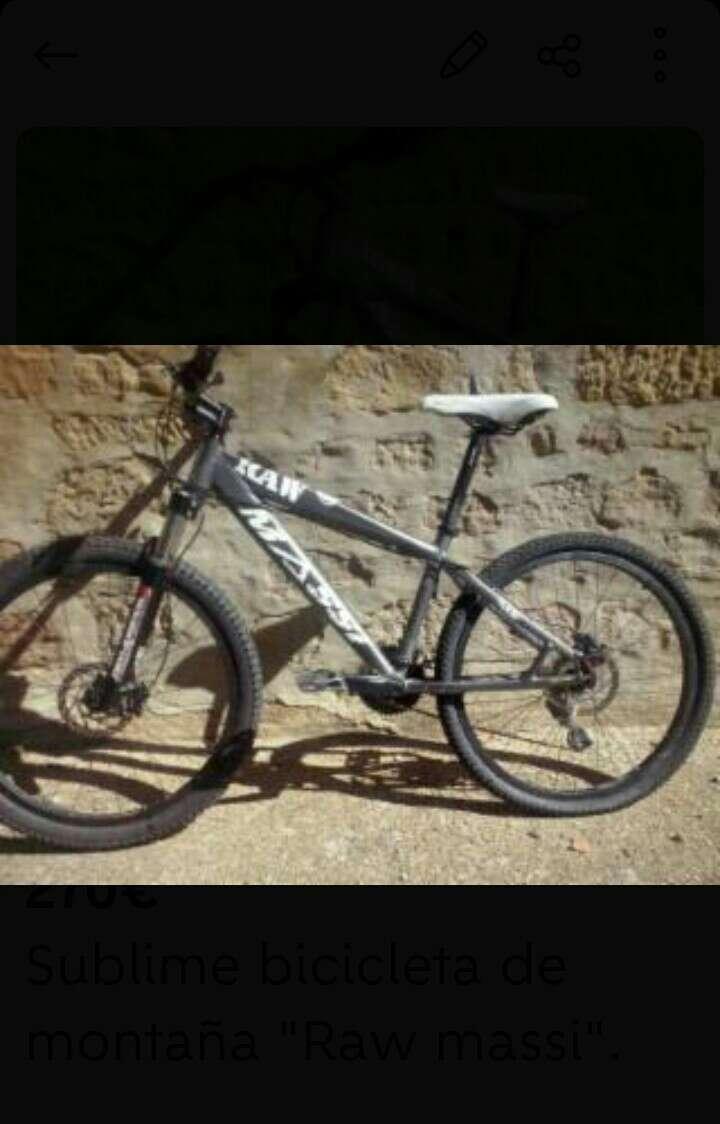 Imagen producto Bicicleta Raw massi 2