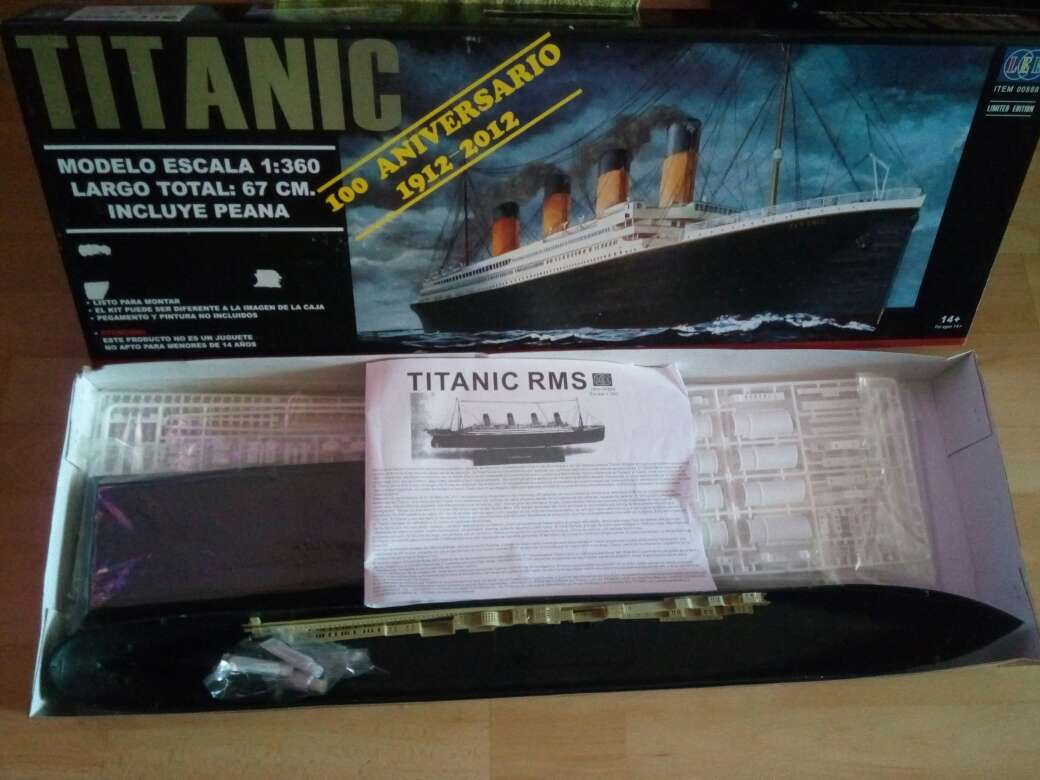 Imagen producto Maqueta del TITANIC 2