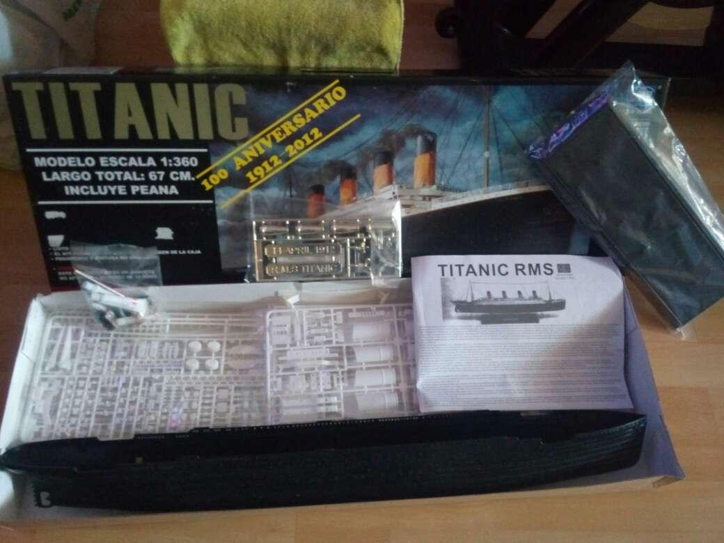Imagen producto Maqueta del TITANIC 4
